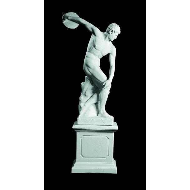 Statue i marmor, Diskokaster - 170 cm