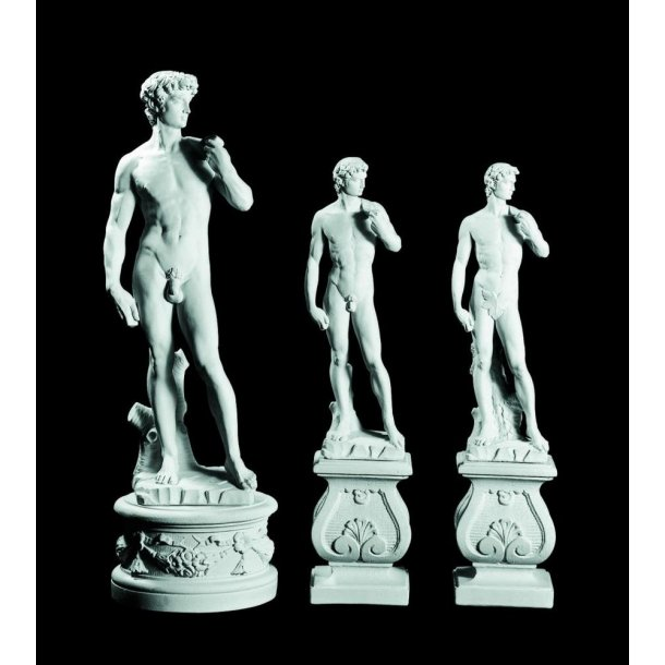 Statue i marmor, David - 88 cm